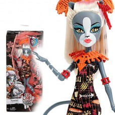 Кукла Монстер Хай Мелодия на отдыхе Monster High - Ghouls' Getaway Meowledy Puppe