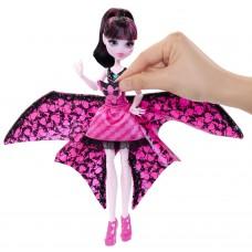 Кукла монстер хай Дракулаура летучая мышь Monster High Ghoul-to-Bat Transformation Draculaura