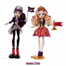 Куклы Эвер Афтер Хай Эппл и Рейвен Школьный дух - примятые коробки