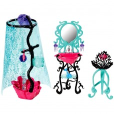 Кукольный игровой набор Монстер Хай Душевая комната Лагуны Monster High Lagoona Blue Shower Playset