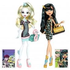 Кукольный набор Монстер Хай  Лагуна и Клео Скариж Monster High Lagoona Blue and Cleo de Nile Scaris