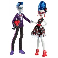 Кукольный набор Монстер Хай Сло Мо и Гулия Йелпс Любовь жива Monster High Love's Not Dead Slo Mo&Ghoulia Yelps