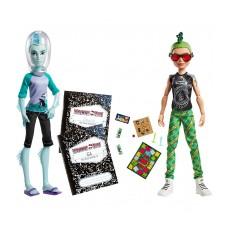 Кукольный набор их двух кукол Монстер Хай Гил Вебер и Дьюс Гордон - Monster High Gil Webber & Deuce Gorgon