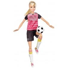 Шарнирная Кукла для девочек Барби Безграничные движения Футболистка - Made to Move Soccer Player Barbie Doll