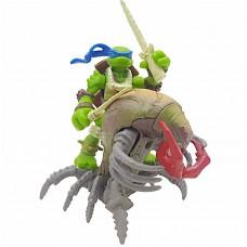 Набор мини-фигурок Леонардо и Скорпион - Leonardo and Skorpion, Mini Mutants, 4Kids, 7СМ, Playmates