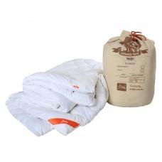 """Одеяло антиаллергенное """"Magic Winter"""" для всех сезонов, хлопок и микроволокно, HoReCa, цвет белый 200х220 см"""