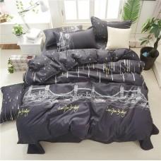 Постельное белье - 1.5-спальный комплект Бязь 1000: пододеяльник 145х210 см, простынь и 2 наволочки 70х70 см