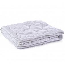 Одеяло гипоаллергенное Polaris Зимнее: микрофибра и силиконизированное волокно, цвет белый, HoReCa 155х215см