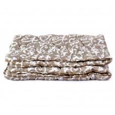 Зимнее теплое Одеяло Фьюжн антиаллергенное, полиэстер и силиконизированное волокно, разноцветное 155х215 см
