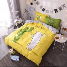 Постельное белье - 1.5-спальный комплект Бязь 1002: пододеяльник 145х210 см, простынь и 2 наволочки 50х70 см