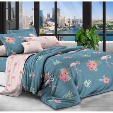 Постельное белье - 2-спальный комплект Бязь 1006: пододеяльник 175х210 см, простынь и 2 наволочки 50х70 см