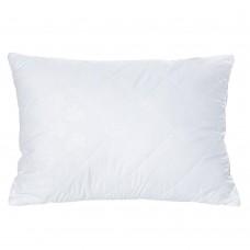 Подушка Гипоаллергенная Белоснежка: микрофибра и силиконовый наполнитель, средней жесткости, HoReCa 60х60 см