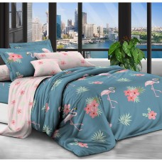 Постельное белье - 1.5-спальный комплект Бязь 1006: пододеяльник 145х210 см, простынь и 2 наволочки 70х70 см