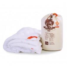 Облегченное Одеяло Magic Summer: летнее гипоаллергенное, хлопок и микроволокно, HoReCa, цвет белый 200х220 см