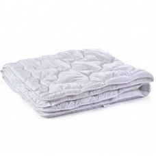 Одеяло гипоаллергенное Polaris летнее: микрофибра и силиконизированное волокно, HoReCa, цвет белый 155х215см