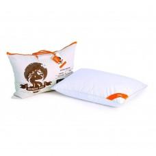 Пухово-перьевая Подушка Paradise с отборным гусиным пухом 90%, пером 10%, мягкая, белая с кантом 50х70 см