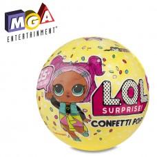 Игровой набор с куклой ЛОЛ Конфетти серия 3 c 9 сюрпризами с аксессуарами - L.O.L. Pop, Confetti, S3, MGA