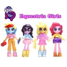Набор кукол Литл Пони Девочки из Эквестрии с подвижными частями, высота 8 см - My Little Pony, Equestria Girls