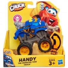 Машинка подъемный кран Хэнди из м/ф Чак и его друзья, высота 10 см - Handy, Chuck-n-Friends, Tonka, Hasbro