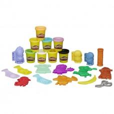 Игровой набор для творчества Переполох Миньонов: пластилин, формы, ножницы, штампы - Minions, Play-Doh, Hasbro