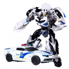 """Бамблби-полицейский """"Трансформеры 4"""" - Bumblebee Police Mode, 18СМ, TF4, Deformation, KuBianBao"""