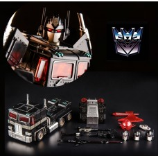 Трансформер Оптимус Прайм (Немезис) из мс Поколения - Nemesis Prime, G1, Masterpiece, KuBianBao, 19CM