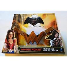 Пояс Чудо-женщины Золотистый со световыми эффектами - Wonder Women, Belt, Batman v Superman, Imagine by Rubies 41413-02 az-31715