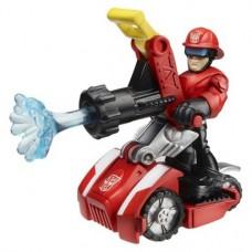 Детский Игровой Набор Коди с пожарной мини-машиной, Боты-Спасатели 6 см - Cody Burns and Rescue Hose, Hasbro