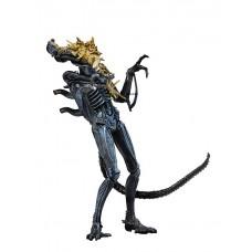 Игровая коллекционная Фигурка Чужой Поврежденный в бою, 23 см - Aliens Xenomorph Warrior Battle Damaged, Neca 43018-05 lt-34482\51639