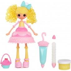 Игровой набор Кукла Лалалупси Свеча на торт Сладкая Фантазия с массой для лепки - Lalaloopsy Girls Cake Fashion