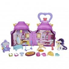 Игровой набор Бутик Рарити с модными аксессуарами, в домике с ручкой Моя Маленькая Пони - My Little Pony, Hasbro