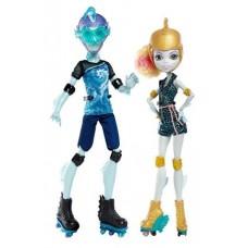 Игровой набор Свидание на роликах с 2 Куклами Монстер Хай Гил Веббер и Лагуна Блю - Monster High Roller Maze