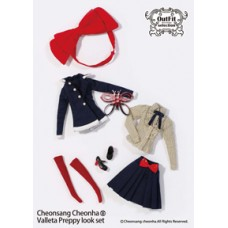 Комплект Одежды Валлетта Стиль Преппи для кукол Пуллип высотой 31 см - Pullip Doll Outfits Valletta Preppy Look