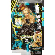 Кукла Монстер Хай Дана Трежура Джонс платье в двух образах - Monster High Shriekwrecked Dayna Treasura Jones