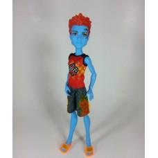 Кукла Монстер Хай парень Холт Хайд серия В Купальнике в очках с полотенцем - Monster High Holt Hyde Swim Class