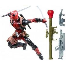 Игровая коллекционная Фигурка Дедпул c аксессуарами, высота 18 см - Deadpool, Legend series, Hasbro