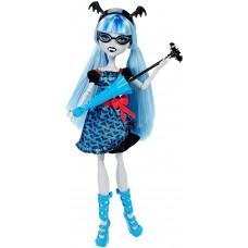 Кукла Монстер Хай Гулия Йелпс Слияние Монстров с голубым зонтиком - Monster High Ghoulia Yelps Freaky Fusion