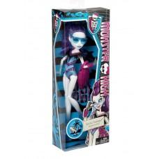 Кукла Монстер Хай Спектра Вондергейст В Купальнике с сумкой и полотенцем - Monster High Spectra Swim Class