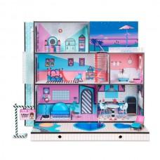 Игровой набор ЛОЛ Сюрприз Модный особняк из дерева - Дом с семьей куколок ЛОЛ и аксессуарами - LOL Surprise! House