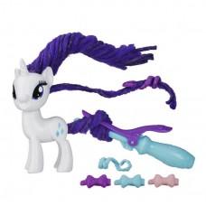 Игровой Набор Рарити Праздничные прически Моя Маленькая Пони - My Little Pony Twisty Twirly Hairstyles, Hasbro