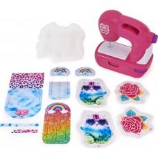 Детская Игрушка Швейная мастерская Машинка Для Девочек розовая со звуковыми эффектами Sew Cool Spin Master