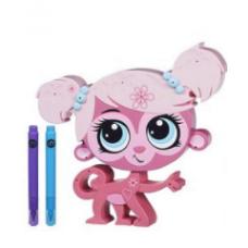 Детский Развивающий Интерактивный Игровой Набор Укрась зверюшку Мартышка Минка Марк - Littlest Pet Shop, Hasbro