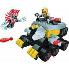 Детский Игровой Конструктор для мальчиков Поединок Король роботов и Врак Mega Bloks Power Rangers Megaforce