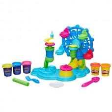 Детский Игровой Набор Для Девочек Карнавал сладостей 5 разных пластилина и колесо обозрения Плей До Play Doh 58906-14 tst-396345242