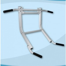 Спортивный Настенный Турник-брусья для Шведской стенки для всей семьи металлический 115х28,5см до 130 кг Т4
