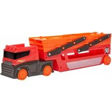 Игровой Автовоз Хот Вилс для мальчиков с 6 раздвижными уровнями для 50 машинок 1:64 - Hot Wheels Mega Hauler