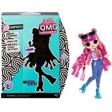Игровой набор Большая Кукла ЛОЛ Роллер Чик с 20 аксессуарами, 27 см - LOL Surprise! OMG Series 3 Roller Chick