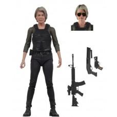 Игровая коллекционная Фигурка Сара Коннор с аксессуарами 18 см - Sarah Connor Terminator Dark Fate Ultimate NECA