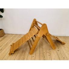 Детский Спортивный Комплекс Треугольник Пиклера, 2 горки для детей от 3 месяцев и до 150 кг 85x274x79 см