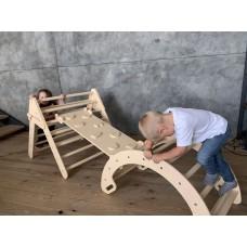 Детский Спортивный Комплекс Треугольник Пиклера, Арка, Горка детская от 3 месяцев до 150 кг 85x268x79 см 62394